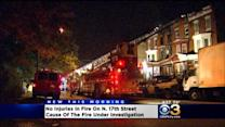 No Injuries Reported In House Fire Overnight