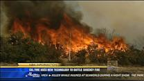Cal Fire uses new technology to battle Shockey Fire