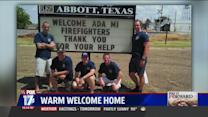 Michigan Firefighters Donate Fire Truck to West Texas Fire Department