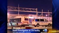 Man found dead in CTA bus lot in Chatham