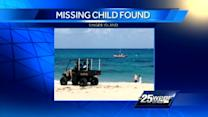 Lifeguard finds missing child on Singer Island
