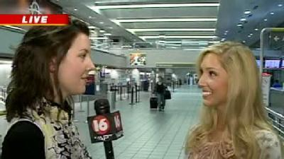 Miss. Mississippi Leaves For Pageant