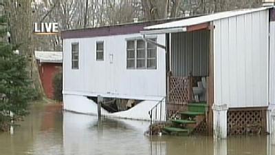 Flood Waters Reach Lawrence County Homes; Residents Evacuated