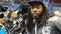 Richard Sherman turns attention to teammates