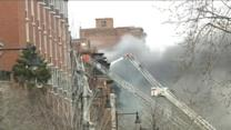 Boston Blaze Kills Two Firefighters