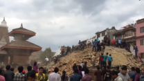 UNESCO Site in Kathmandu Damaged in Earthquake