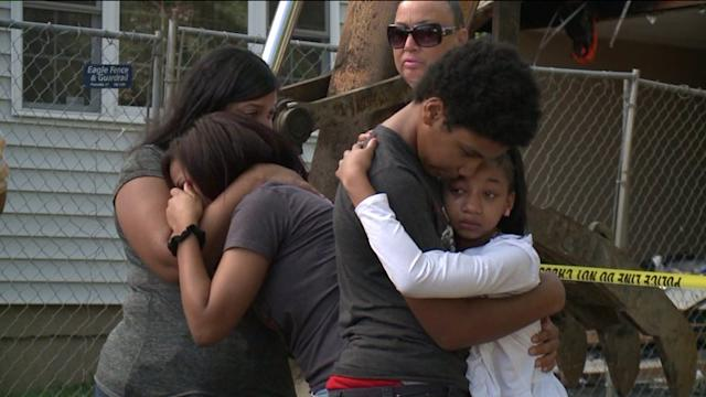 Family Of The East Haven Plane Crash Victims Arrive In Connecticut.