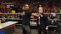 Comedian and host Jon Stewart appears on WWE