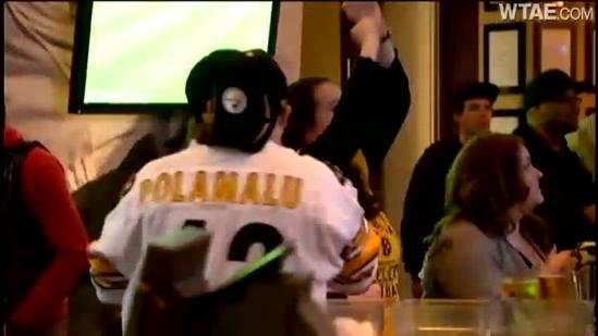 Steelers fans fired up over big win