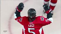 Cody Ceci scores first NHL goal for OT winner