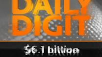 Daily Digit: $6.1 billion