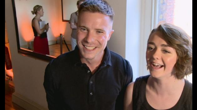 Maisie Williams and Joe Dempsie talk Game of Thrones future