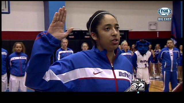 DePaul Guard Madeline Crowell Balances Basketball, Classes And ROTC