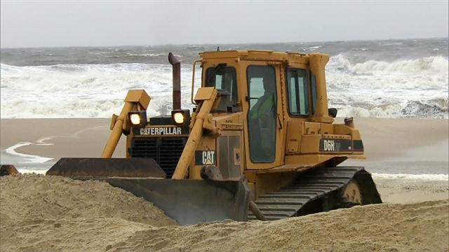 After Sandy, NJ rushes to prepare for nor'easter
