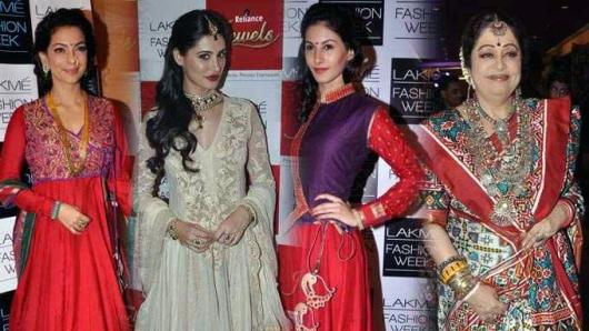 Bollywood goes traditionally sexy at LFW
