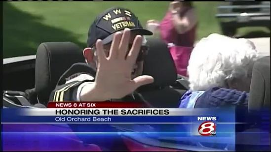 Mainers gather to mark Memorial Day