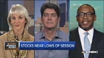 Retail investor: Sticking with equities amid volatility