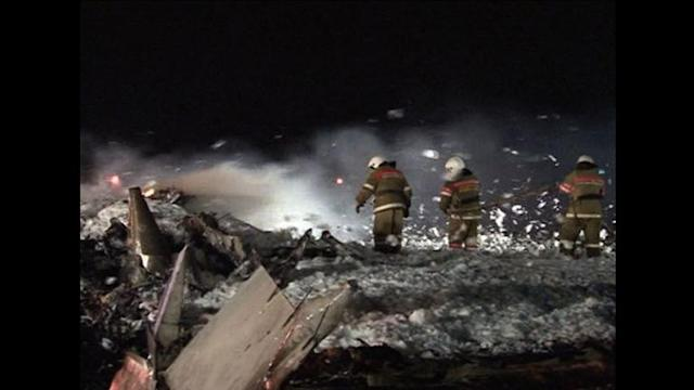 Russia passenger jet crash leaves 50 dead