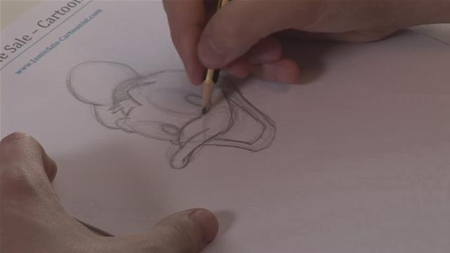 How To Sketch Donald Duck