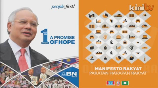 BN & Pakatan's manifestos - what's really in them for you? (Part 1)