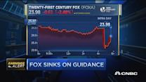 Fox sinks on guidance