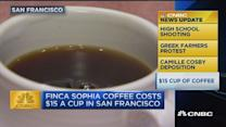 CNBC update: $15 cup of coffee