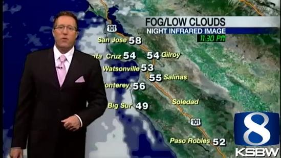 Get Your Wednesday KSBW Weather Forecast 5.29.13