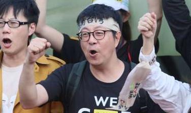 帶頭罷韓 被爆「在高雄吃香喝辣」