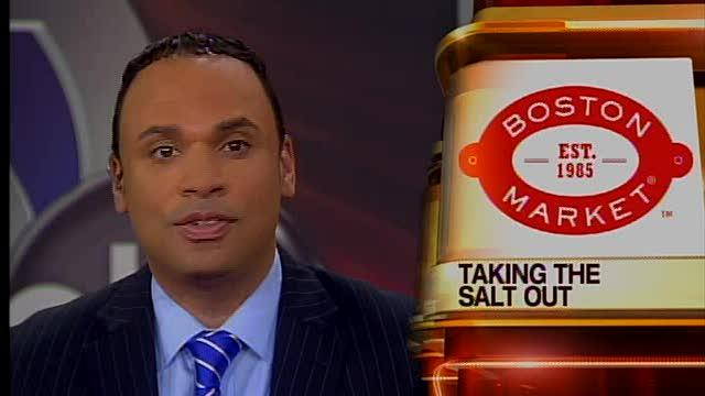 Boston Market getting rid of salt shakers