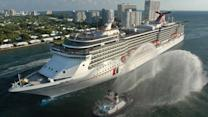 Another Carnival cruise ship has troubles at sea