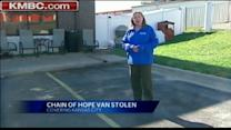 Animal help group has van stolen
