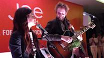 Paul McDonald and Nikki Reed perform new song