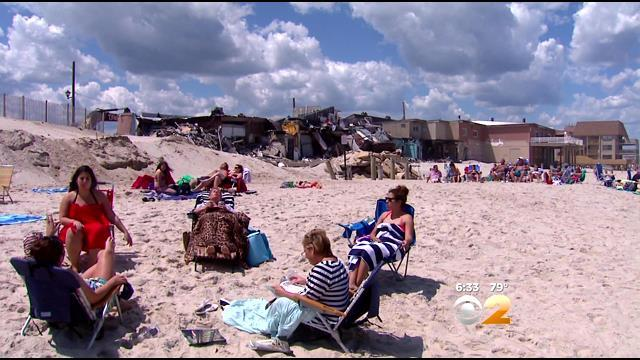 Ghosts Of Sandy Remain At Ortley Beach