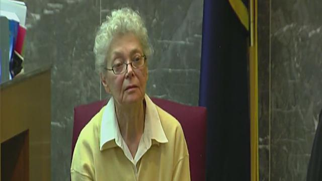 Sandra Layne testifies in murder trial