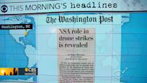 Headlines: NSA involved in government's targeted killing program