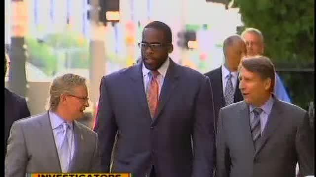 Kwame Kilpatrick late for Federal Corruption Trial