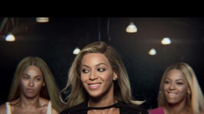 Beyonce Catches Up With Her Past in New TV Ad