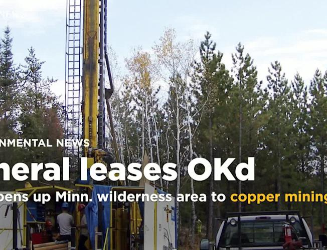 Trump administration opens up popular Minnesota wilderness area to copper  mining
