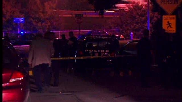 Cleveland police shoot man with wrench