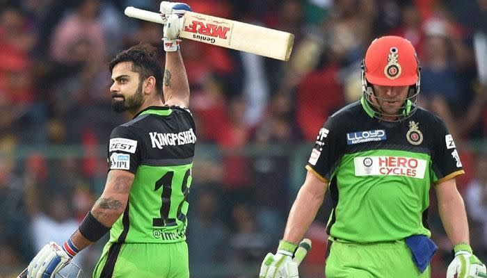 The duo is the backbone of RCB's batting line-up