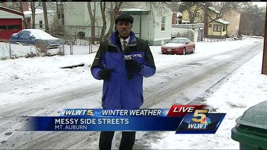 Side streets treated after main roads are clear of snow