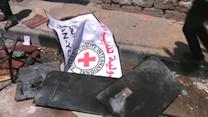 Gaza residents attack Red Cross office over lack of assistance