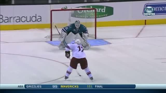 Shootout: Coyotes vs Sharks