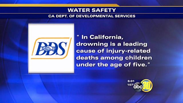 Experts advise caution with children around water