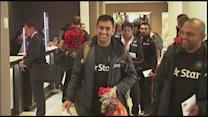 India arrive in Auckland ahead of third ODI