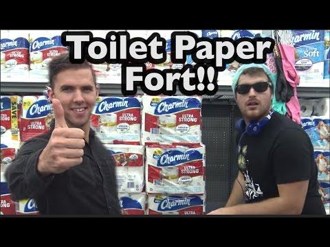 Wonderful Toilet Paper Fort Creative