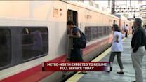 Metro-North Train Service Returns To Normal