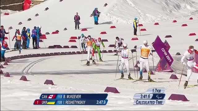 Double gold for Canmore skiers on the final day of the Paralympics