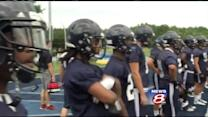University of Maine football team starts practice
