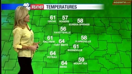 Laura's Monday weather webcast Oct 1